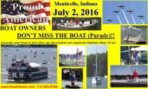 Lake Freeman Boat Parade